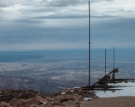 Colorado Springs below