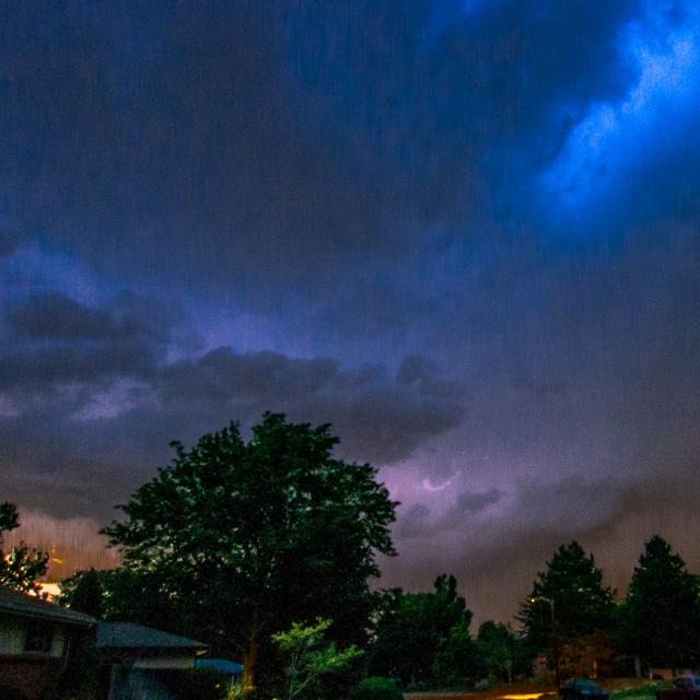 Denver storm sky