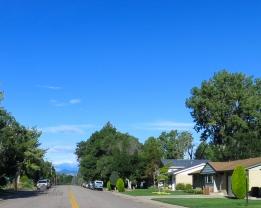 A nice morning in the neighborhood.