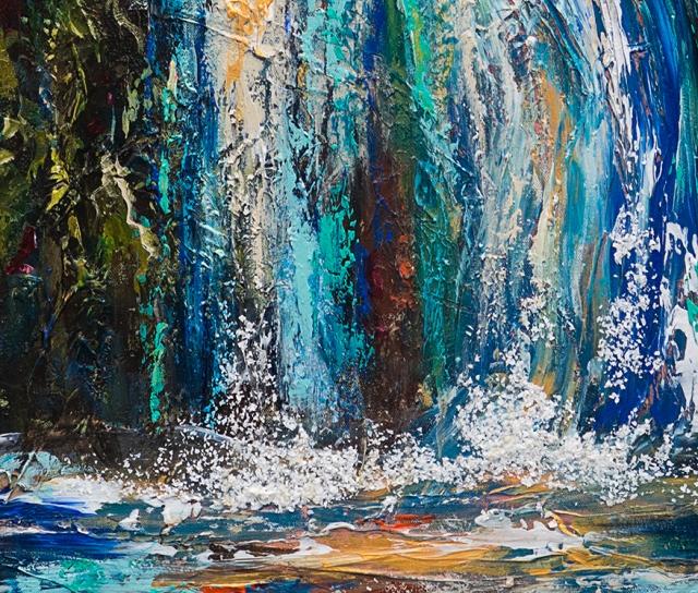 Waterfall Canyon detail